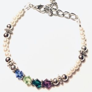 Jewelry - Custom Birthstone Bracelet